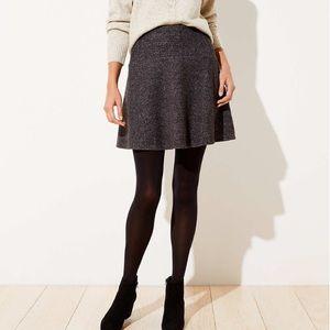 Loft textured flippy skirt